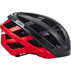 ABUS In-Vizz Ascent - Casque de vélo - rouge/noir